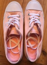 Converse All STAR OX Light PINK Women's Size 6 Sneakers NEW No Box Micro Dot