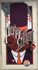 Pearl Jam - Chicago Screen Print Poster Purple 2007 - Eddie Vedder Brad Klausen