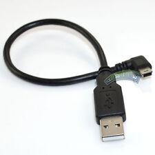 USB 2.0 A male plug to Mini B 5P right angle male plug adapter cable cord data