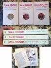 1970s The Lord Of Rings Trilogy Box Set J.R. Tolkien Ballantine paperback
