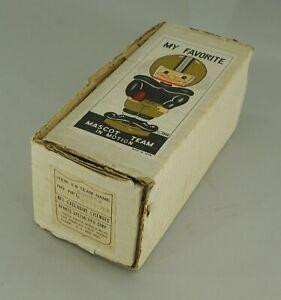 ORIGINAL 1968 BOSTON PATRIOTS FOOTBALL BOBBLE HEAD NODDER EMPTY DISPLAY BOX