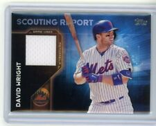 2016 Topps Scouting Report Relics David Wright New York Mets