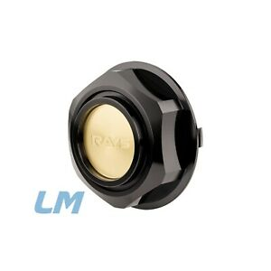 Nismo RAYS style LMGT1 / LMGT2 LM GT1 Billet Aluminum Caps Set of 4 in Black.