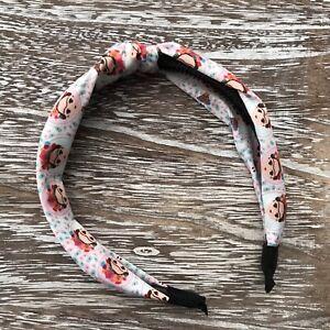 Frida Khalo Arch Headband, Hard Headband, Knot Fabric, Floral