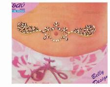 Bindi bijou de peau strass tatoo pour nombril Inde mariage oriental B511