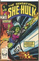 Sensational She-Hulk 1989 series # 6 near mint comic book