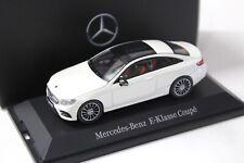 1:43 iScale Mercedes E-Klasse Coupe white DEALER NEW bei PREMIUM-MODELCARS
