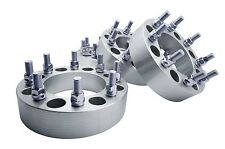 """4pc 2"""" Thick 8x6.5 Wheel Spacer Adapter Kit Fits RAM 2500 3500 2012-2015"""