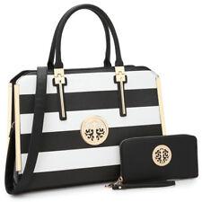 Women Handbags Faux Leather Briefcase Tote Laptop Bag Work Purse Match Wallet