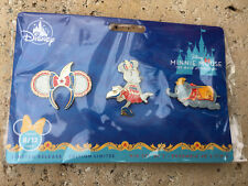 Disney Parks Dumbo Minnie Mouse The Main Attraction Pin Set Of 3