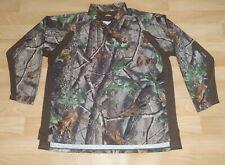 Under Armour Men Size 3XL Realtree Hardwood Camo Camouflage Long Sleeve Shirt
