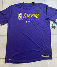 Nike NBA Los Angeles Lakers Player Issued Practice Shirt Size XLT