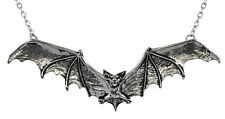 Gothic Bat Necklace/Pendant - Alchemy Gothic Nocturnal Totem