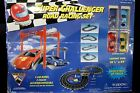 NEW VINTAGE EXCITE SUPER CHALLENGER ROAD RACING SET WITH FOUR CARS