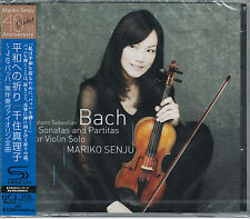MARIKO SENJU-JOHANN SEBASTIAN BACH:6SONATAS PARTITAS FOR VIOLIN -JAPAN CD I19
