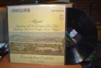 Jochun Concertgebouw Mozart Symphony No. 36 No. 38 LP Philips PHS 900-003 ST