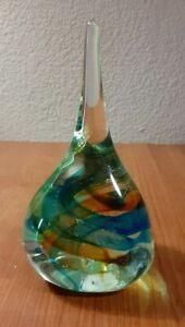 Murano Italian Art Glass Sculpture or Paperweight Freeform SWIRL GLASS Design