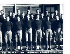 1931  CHAMPION GREEN BAY PACKERS  8X10 TEAM PHOTO  FOOTBALL SUPER