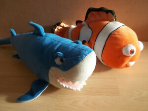 Disney Nemo & Bruce Plush Soft Toy