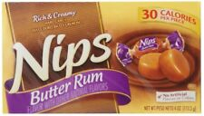 Nips Hard Candy Butter Rum 12 packs (4oz per pack)