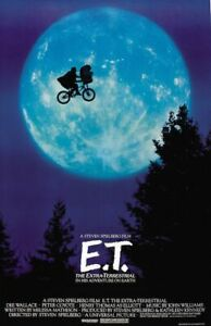E.T. Movie Sheet Poster 24x36 inch Fast Shipping New ET Steven Spielberg