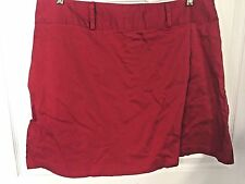 VGU Carolina Blues PLUS Golf SkORTS SZ 20 Casual COTTON Spandex RED