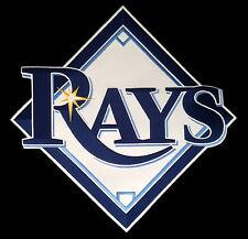 """Tampa Bay Rayons MLB Baseball Énorme 15 """" Équipe Logo Patch"""