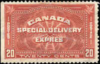 Canada Used F+ Scott #E5 20c 1932 Special Delivery Stamp