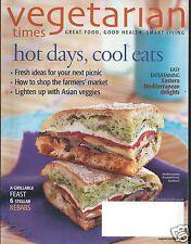 Vegetarian Times Magazine July / August 2008 Eastern Mediterranean Delights