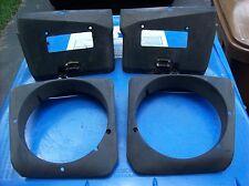 Porsche 951 944 Turbo S2 Headlight Buckets Covers Bezels Housings
