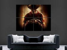 Freddy Krueger Pesadilla En Elm Street Gigante De Pared de arte cartel impresión Grandes Enormes