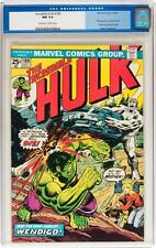 Hulk #180 CGC 9.4 1974 1st Wolverine Cameo 181! X-Men! Movie! clean C12 171 cm