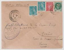 1942 France Concentration Internment Camp de Gurs prisoner Cover K Sothlesinger