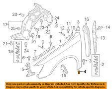 AUDI OEM 09-12 Q5 Trailer Hitch-Rear Bumper-Release Lever Nut N90817302