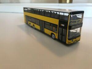 Rietze MAN Bus/Doppel Lion´s City 100 S+U Bahnhof Zoolog.Garten
