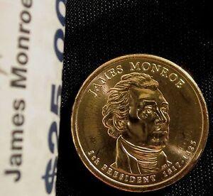 2008-P $1 James Monroe Presidential Dollar BU