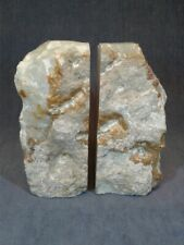 Vintage Onyx Natural Stone Bookends