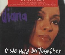 "Diana Ross If We Hold On Together + 3 - EMI 5"" CD Single"