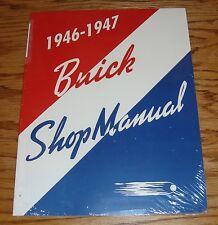 1946 - 1947 Buick Shop Service Manual 46 47