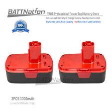 2x 19.2V 3000mAh 3.0AH Li-Ion Battery for Craftsman 11374 11375 C3Cordless Drill