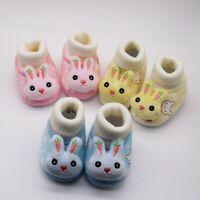 Cartoon Toddler Baby Girl Boy Anti-slip Crawling Socks ShoesTightness Warm boot