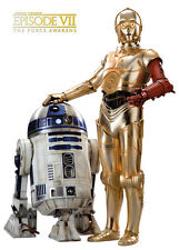 Movie POSTER Star Wars Ep 7 The Force Awakens R2-D2 C-3PO 20x28 #07