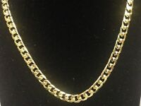 """14KT Solid Gold Miami Cuban Curb Link 22"""" 5.8 mm 46 grams chain/Necklace MC180"""