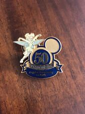 Disney Official Trading Pin~TINKERBELL Disneyland 50th Anniversary~In Relief~HTF