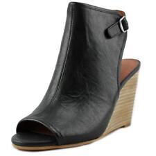 Zapatos de tacón de mujer de tacón alto (más que 7,5 cm) de color principal negro de piel