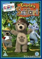 LITTLE CHARLEY BEAR - CHARLEY ON SAFARI  (FREE FIGURE) *BRAND NEW DVD*
