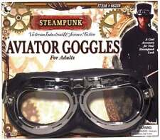Steampunk Aviator Goggles Glasses Accessory for 00s Rock Rockabilly Fancy Dress