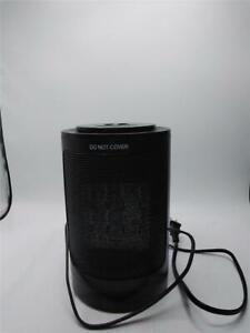 PTC Heater GD9215AD9 Portable Desktop Space Heater 1500W 120V Black