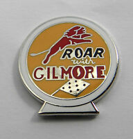 Gilmore Roar Oil Gas Fuel Lapel Pin Hat pin badge 1 inch in size