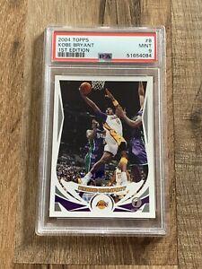 2004 Topps 1st Edition #8 Kobe Bryant Lakers PSA 9 MINT